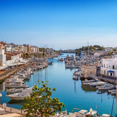 Menorca, Ibiza, Resorts, Dolores Park, River, Outdoor, Mini, 19th Century, Spain