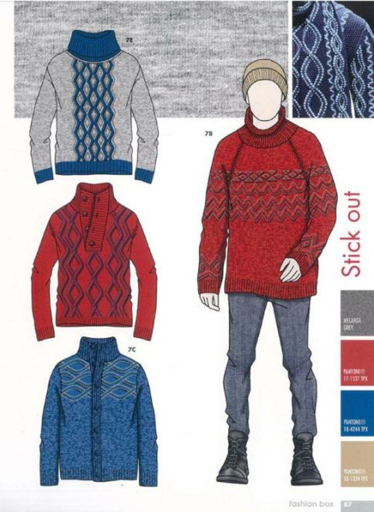 Fashion Box Men's Knitwear - A/W 15/16 - Menswear - Styling ...
