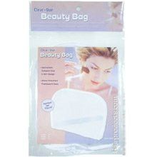 """Clear-Vue 8"""" Beauty Bag by Clear-Vue. $1.99. Clear-Vue Dual Compartment Beauty Bag with Handle Features:- Two Zipper Compartments. Beauty Bag. Dual Compartment. Clear-Vue Beauty Bag Features:- Convenient Compact Size and Slim Design- Water Resistant Translucent Case - Perfect for Travel!Dimensions:Length: 8 inchesHeight: 6 inchesDepth: 1 inches"""