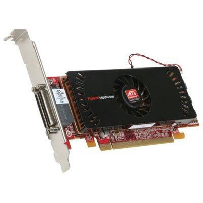 ATI 100-505531 FirePro 2450 512MB GDDR3 PCI Express 2.0 x16 & x1 Lane Low Profile Multi-View Workstation Graphics Accelerator by ATI. $266.11. Technical Information:Product Description ATI FirePro 2450 Multi-View - graphics adapter - 2 GPUs - FirePRO 2450 - 512 MB Device Type Graphics adapter Enclosure Type Plug-in card - low profile Interface Type PCI Express 2.0 x16 Graphics Processor / Vendor 2 GPUs - ATI FirePRO 2450 Video Memory Installed ( Max ) 512 MB - GDDR3 SDRAM Video ...