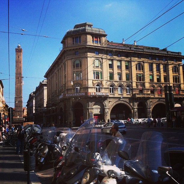 Only a few more days left here at #blogville! Exploring Bologna today - Instagram by @Rachelle Lucas