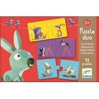 Djeco Puzzle Duo - Opposites - £6.75