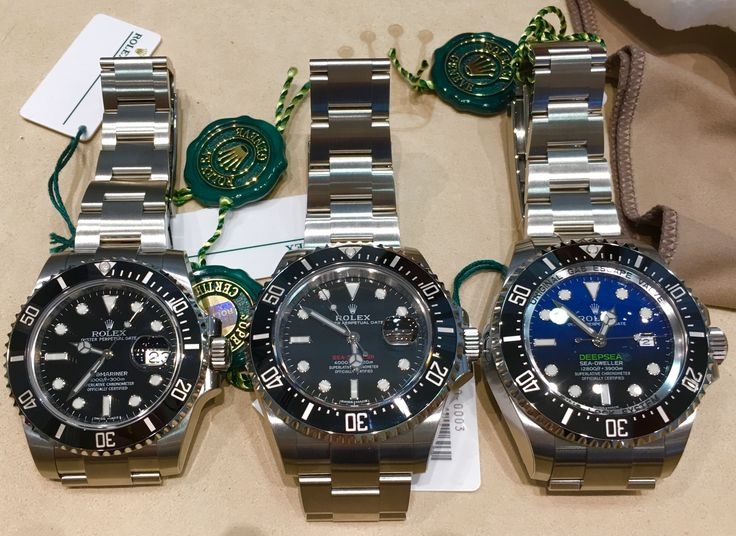 Rolex Size Comparison 40mm Submariner 43mm Sea Dweller
