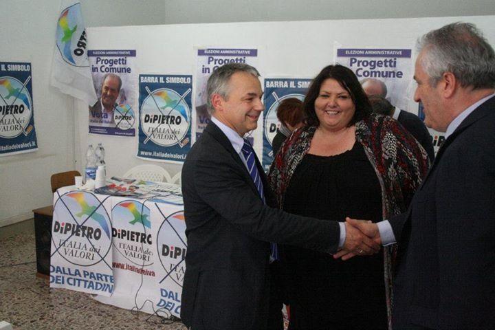 Con Niccolò Rinaldi e Memmo Marzi
