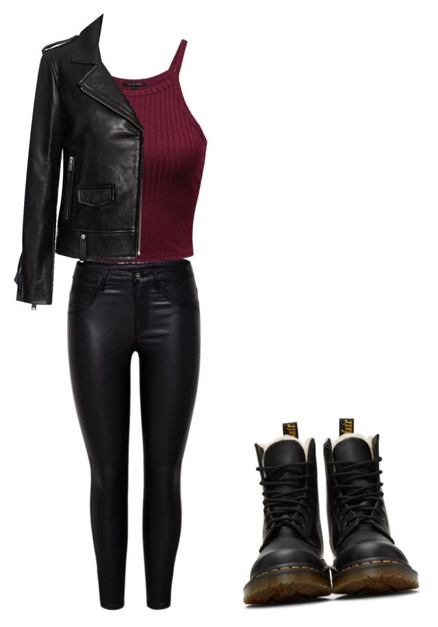 """""""Untitled #161"""" by maariaa-marah on Polyvore featuring IRO and Dr. Martens"""