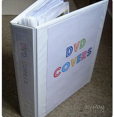I have done this, great way to store and organize DVD/CD's and their covers