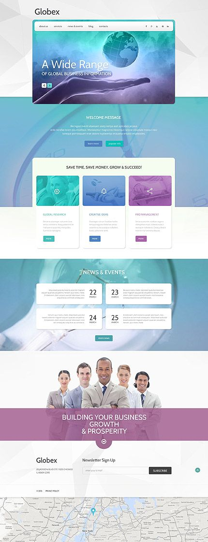43 best business website templates images on pinterest business wordpress template 75 webdesign template wordpress business branding websites wajeb Gallery