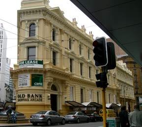 Old Bank Arcade, Wellington, New Zealand
