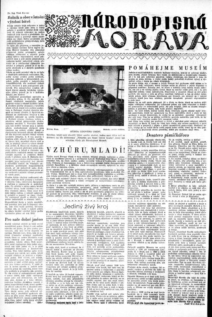 Moravská orlice, 19.4.1942