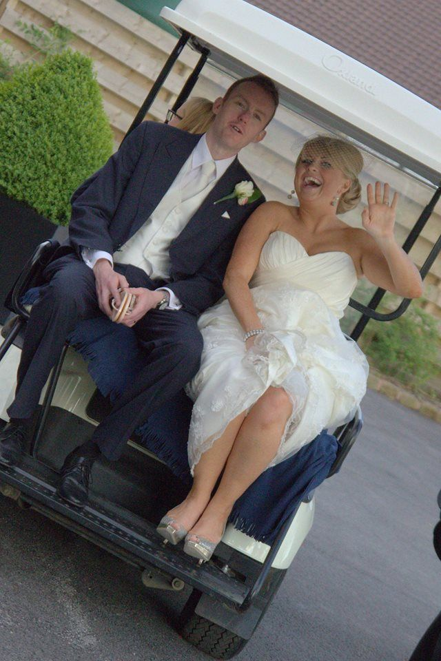 What mode of transportation will you be utilizing for your wedding? Consider these fun options: - A golf cart - A horse drawn carriage - A motorcycle  #golfcart #wedding #weddingtransporation #weddingcar #weddingfun #ravenluxuryevents #weddingplanner  Photo Source: https://www.flickr.com/photos/comedynose/7339230912/