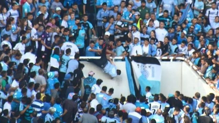 #Soccer fan #dies after being pushed from #stand...