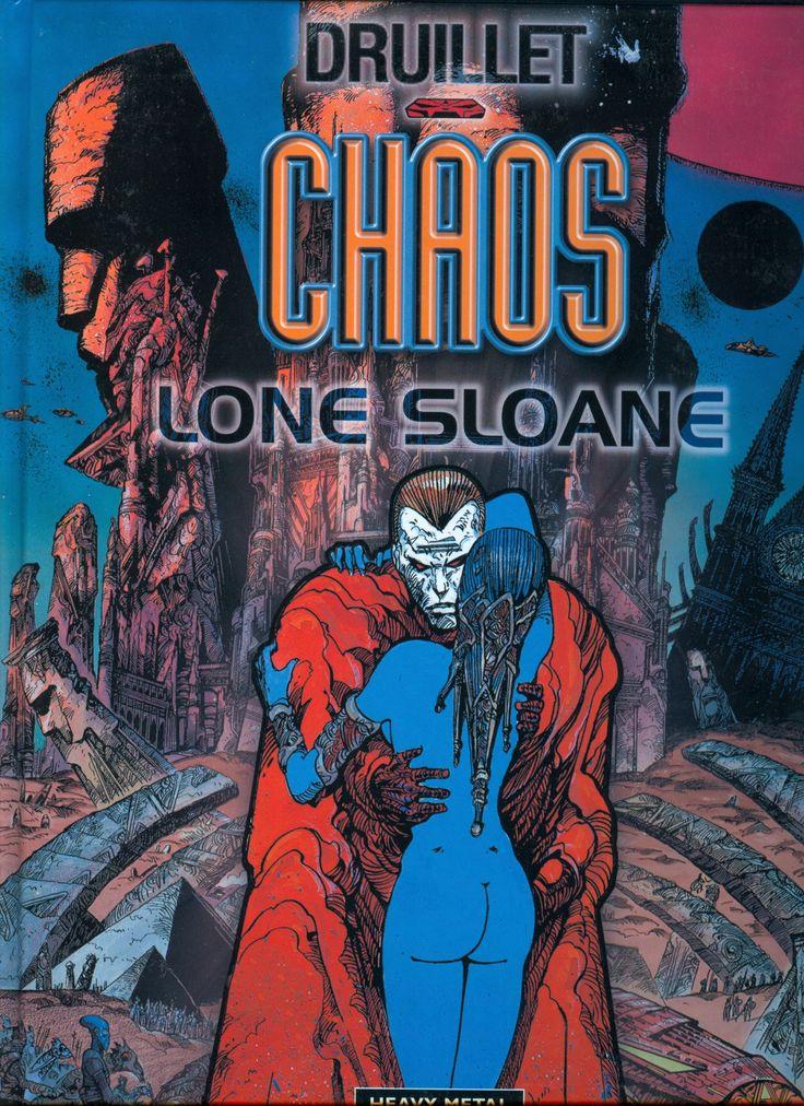 Lone Sloane: Chaos by Phillipe Druillet (Heavy Metal)