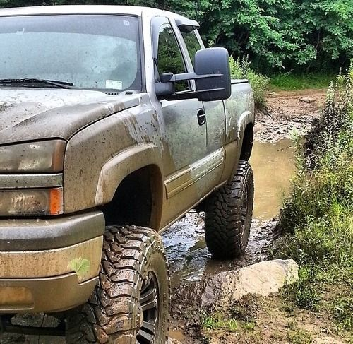 Lifted Chevy Truck