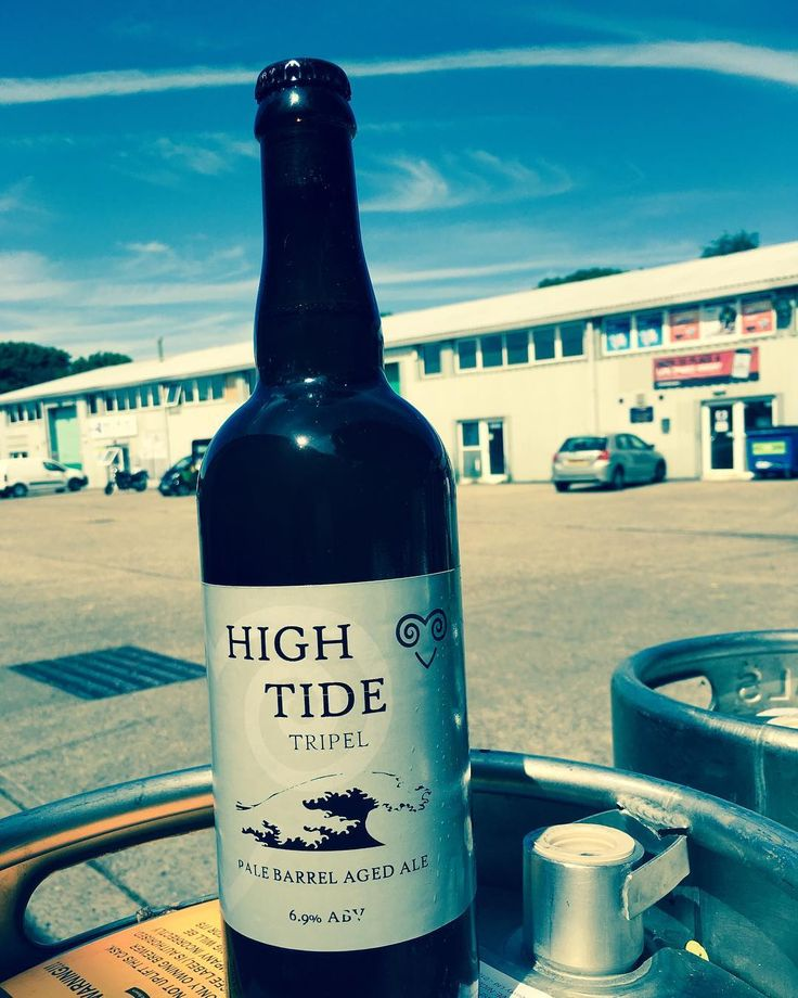 New small batch beer alert! Our brettanomyces barrel aged  High Tide Tripel. Available now in the brewery shop #brettanomyces #craftbeer #craftnotcrap #locale #realale #gadds #ramsgate