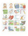 Предлагаем вам бесплатно скачать изображения для создания визуального расписания. Создайте вместе с ребенком красочное расписание, благодаря которому он с легкостью научиться следовать распорядку дня и выполнять домашние дела во время.