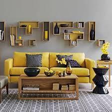 Yellow, Grey and Wood
