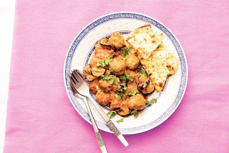 Kijk wat een lekker recept ik heb gevonden op Allerhande! Kofta curry