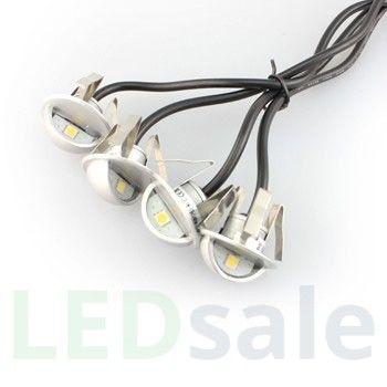 6-pack Ögonlocks LED Däcklampor