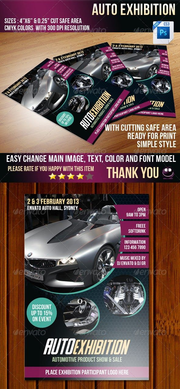 13 best inspiration images on Pinterest Car car, Flyer template - free sports flyer templates