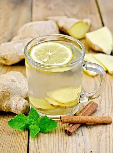 tisana zenzero e cannella, ottimo come rimedio anti influenzale