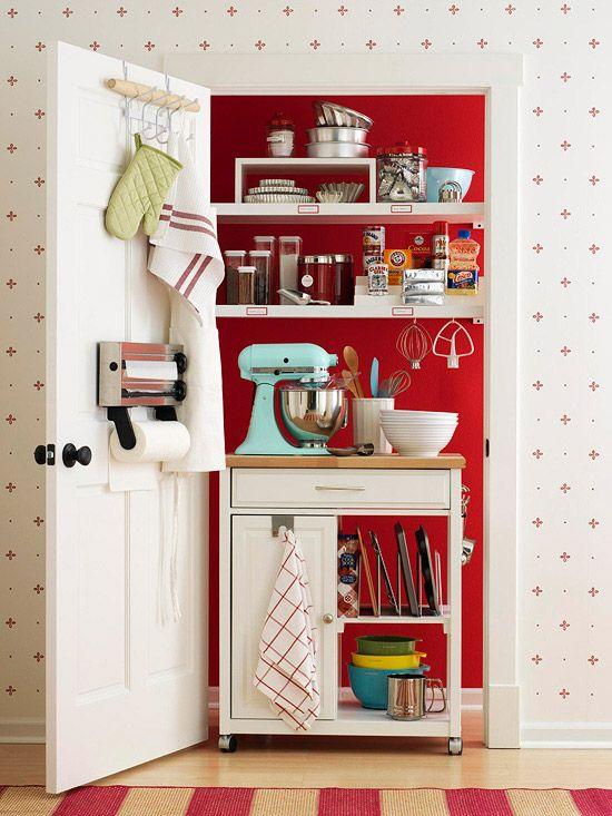 Closet to Mini Kitchen