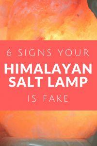 6 Signs Your Himalayan Salt Lamp Is Fake
