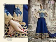 Latest Enigmatic Jade Blue and Beige Anarkali Salwar Kameez Online Shopping #Blue #OnlineShopping #AnarkaliDress #Dress #SalwarKameez #WholesaleDress #Fashion #ExclusiveDress  @ http://www.addsharesale.com/ #IndiaSupplier