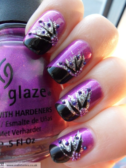 The Most Por Nails And Polish Manicure Stylish In 2018 Pinterest Nail Art Silver