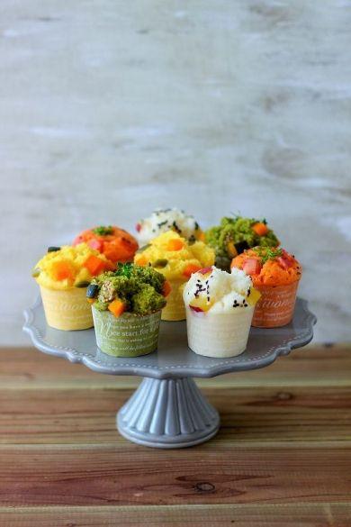「簡単!カラフル野菜スチームマフィン」あいりおー | お菓子・パンのレシピや作り方【corecle*コレクル】