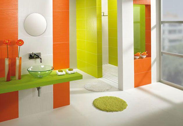 Los 9 Colores Que Mejor Combinan Con El Naranja Decoracion Banos