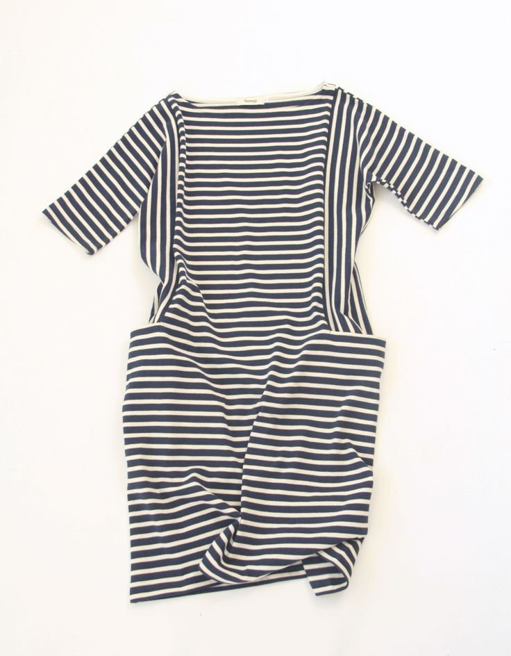 Samuji Rosa Dress in Navy/Ecru stripe: Direction Stripes, Samuji Rosa, Fabulous Closet, Rosa Dresses, Altered Clothing, Girls Dresses, Navy Ecru Stripes, Stripes Dresses, Samuji Dresses