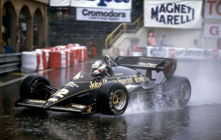 Nigel Mansell in the Lotus 95T, Monaco 1984