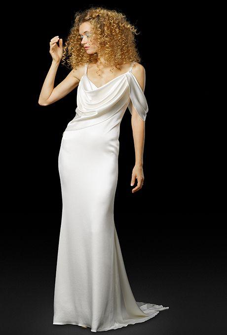 Brides: Elizabeth Fillmore Wedding Dresses - Fall 2017 - Bridal Fashion Week