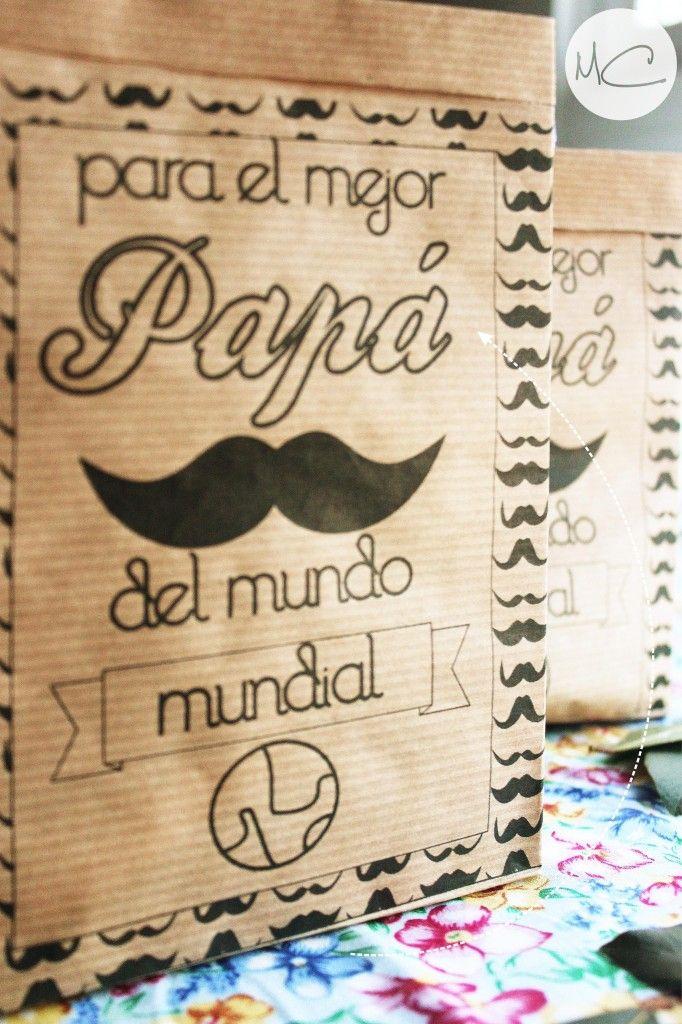 Imprimible gratuito: Día del Padre - Mamá Convergente Imprímela gratis  www.tuecobox.com