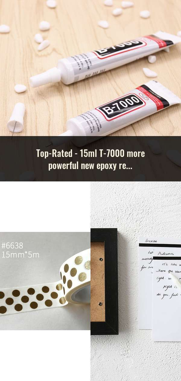 15ml T-7000 more powerful new epoxy resin adhesive T7000 black