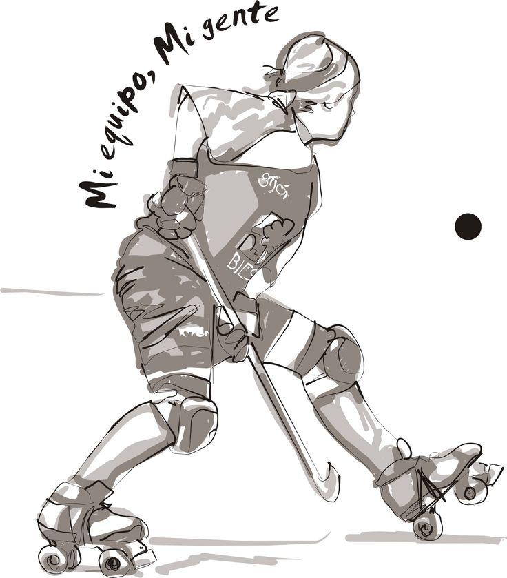 dibujos de hockey sobre patines - Buscar con Google