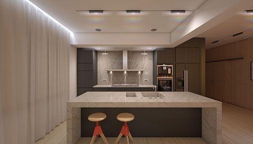 Sfeerverlichting in woonkamer   Interieur inrichting