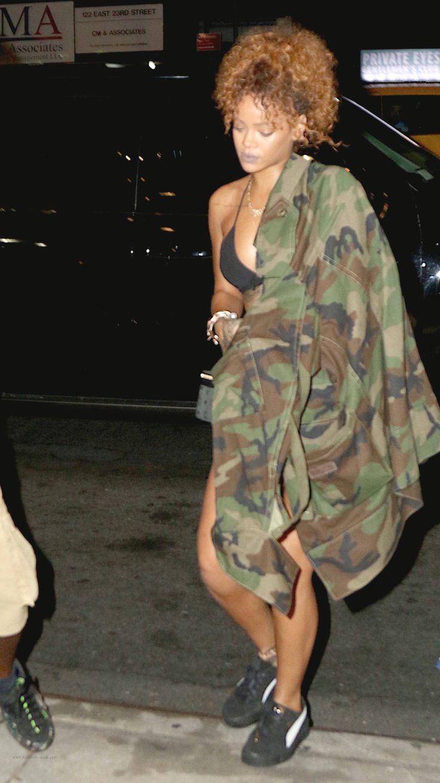 Rihanna Street Style Candids Fenty Fashion 2016 Rihanna