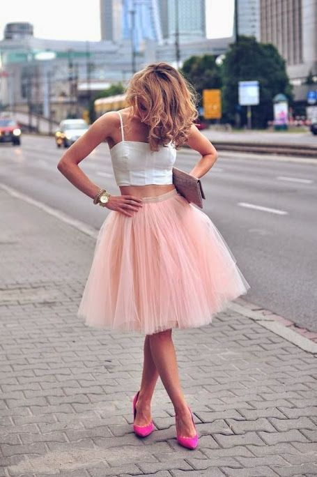 ive always wondered how I could get away with wearing tulle... now i know.