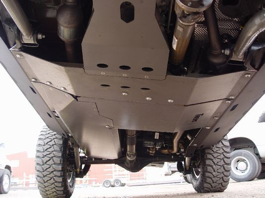 Protecting your vehicle's undercarriage when wheeling. #blog