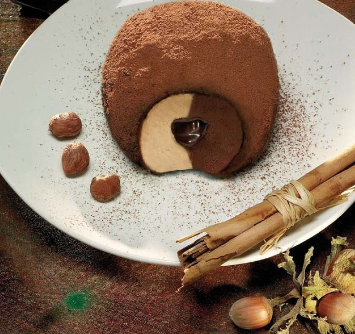 """""""Tartufo di Pizzo"""" from the best ice cream parlour in Calabria"""
