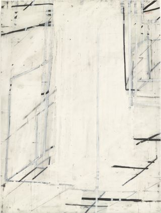 Eve Aschheim, Metaphor (1999), Gesso, crayon, and pencil on synthetic polymer…