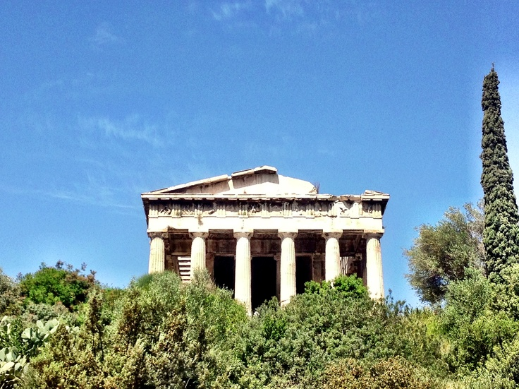 Ancient temple of Thissio