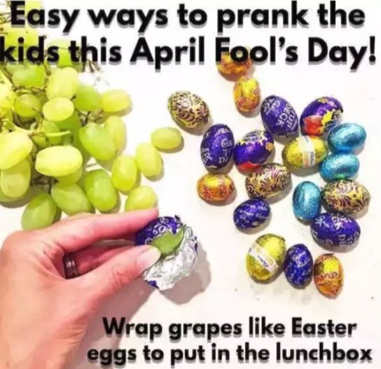 50 fun April Fool's Day Pranks for kids (some teenager only pranks)