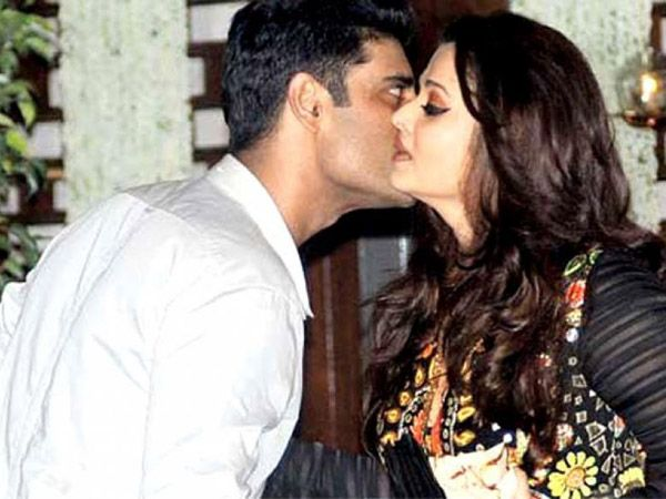 Sikandar Kher who is a very close friend of the Bachchans wished Aishwarya Rai Bachchan by kissing her on her birthday