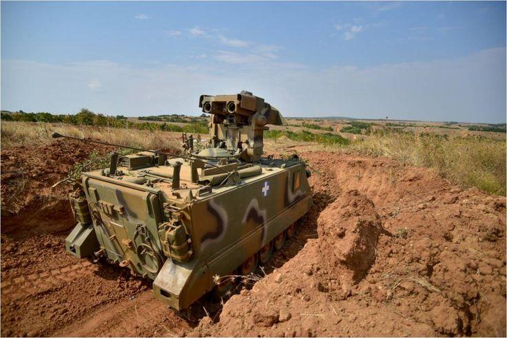 Τεθωρακισμένο όχημα M901 του ΕΣ κατά τη διάρκεια άσκησης (via army.gr) | A M901 ITV TOW of Hellenic Army during exercise (via army.gr)