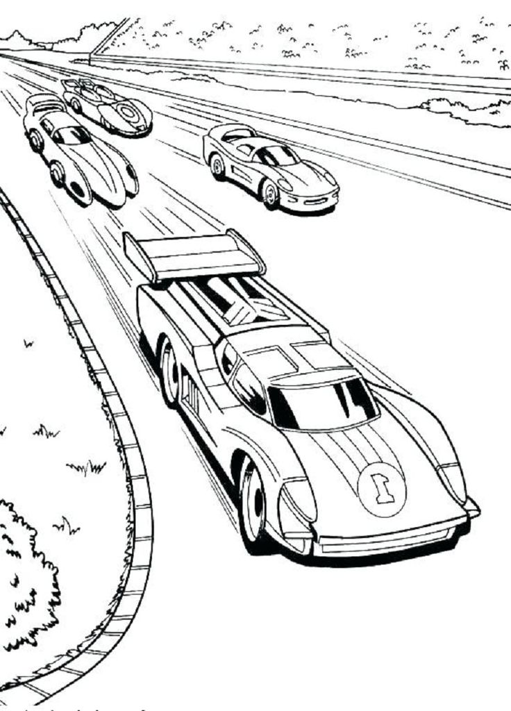 Hot Wheels Track Coloring Pages Race Car Coloring Pages Cars Coloring Pages Coloring Pages For Boys