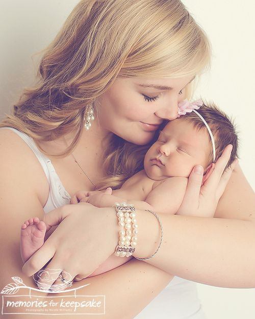 mommy baby newborn photography