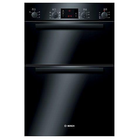Buy Bosch Classixx HBM43B260B Double Electric Oven, Black Online at johnlewis.com