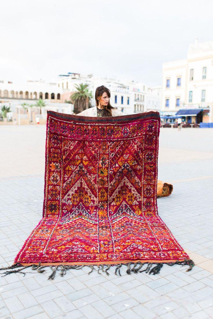 Köp begagnade marockanska mattor istället - här!